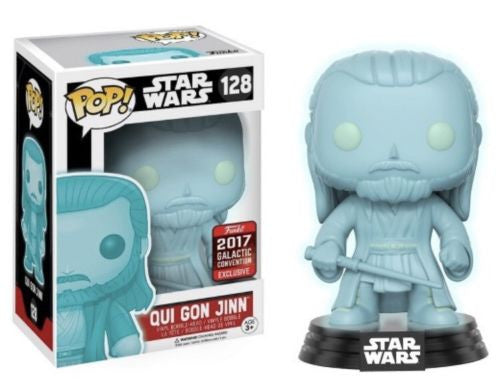 Qui Gon Jinn (Holographic) - Star Wars Celebration 2017 EXCLUSIVE - Funko Pop! Vinyl