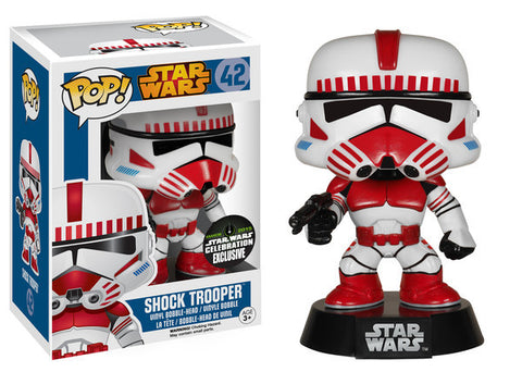 Shock Trooper - 2015 Star Wars Celebration EXCLUSIVE - Funko Pop! Vinyl | Pop Loving