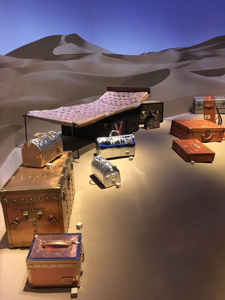 Louis Vuitton Vintage Trunks - Exhibition NYC
