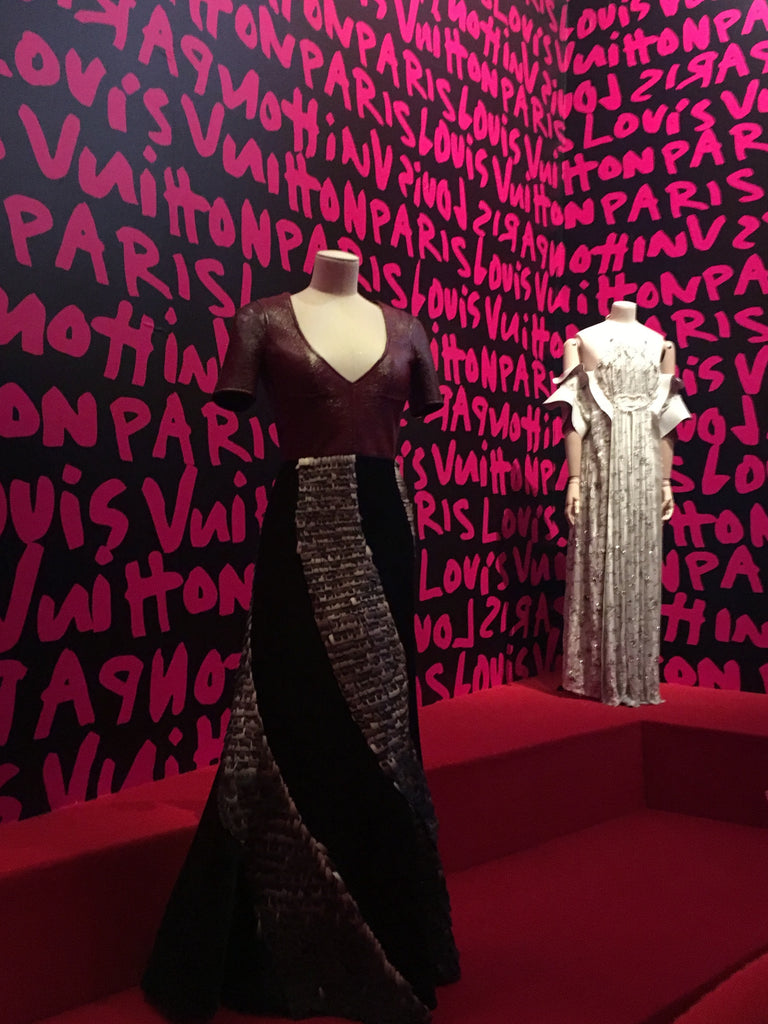 Red Carpet Gowns from Louis Vuitton Exhibition NYC