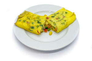 Mexican Omelette (Vegetarian)