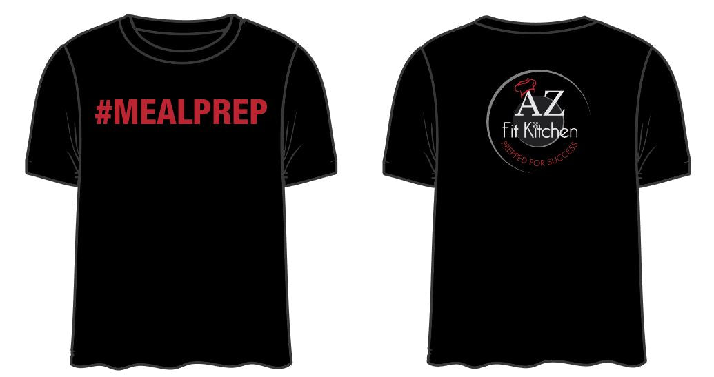 Black Meal Prep Shirt