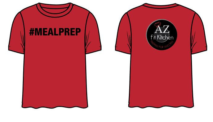 Red Meal Prep Shirt