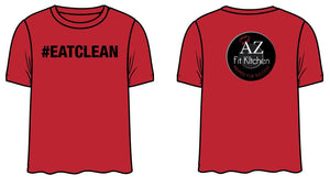 Red Eat Clean Shirt