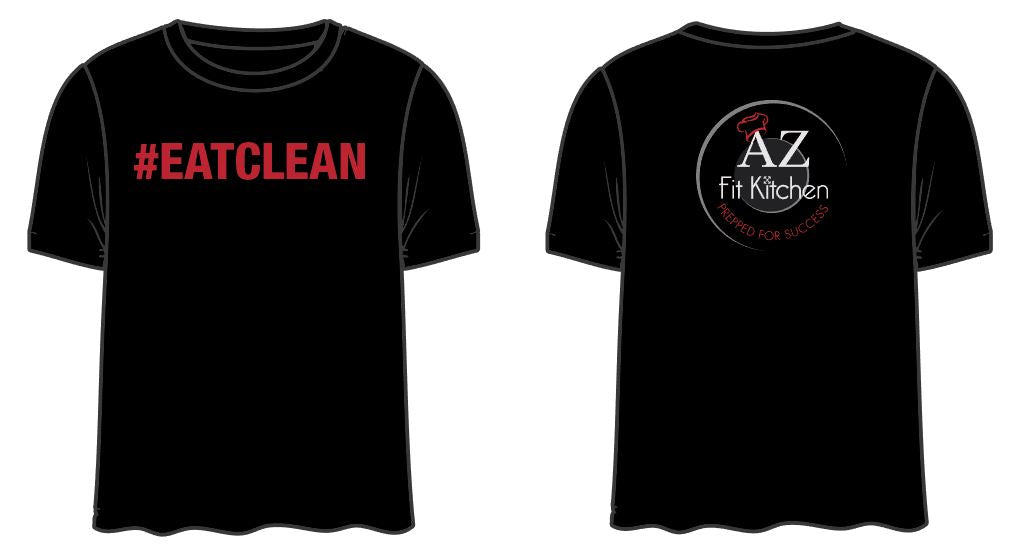 Black Eat Clean Shirt