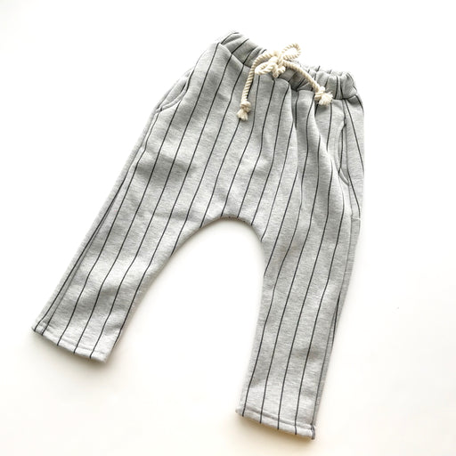 Jack harem pants (gray stripes)