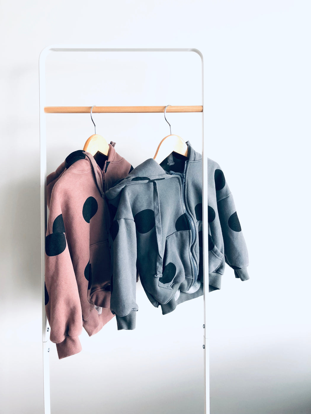 Bubbles zip up hoodies