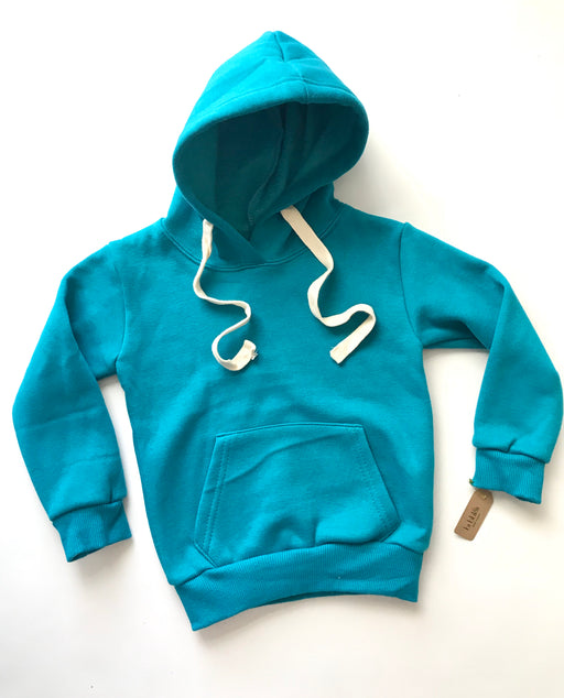 Fleece lined hoodie (blue)