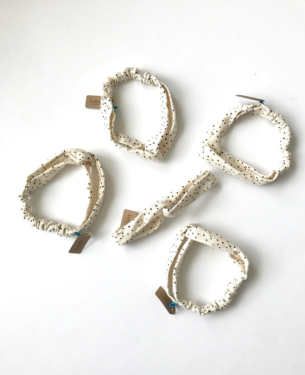 Love knot headbands (white)