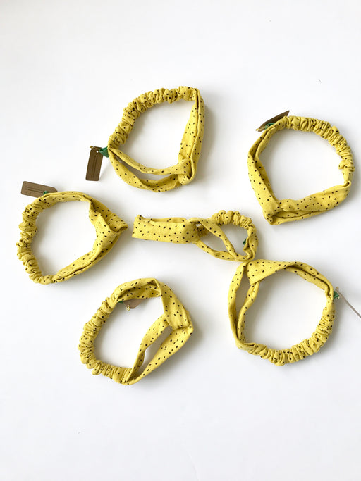 Love knot headbands (yellow)