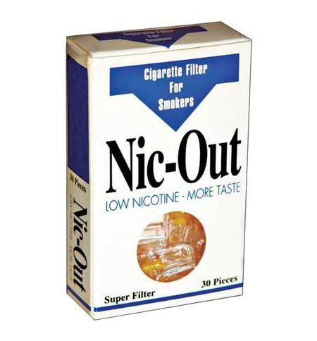Nic-Out Cigarette Filters