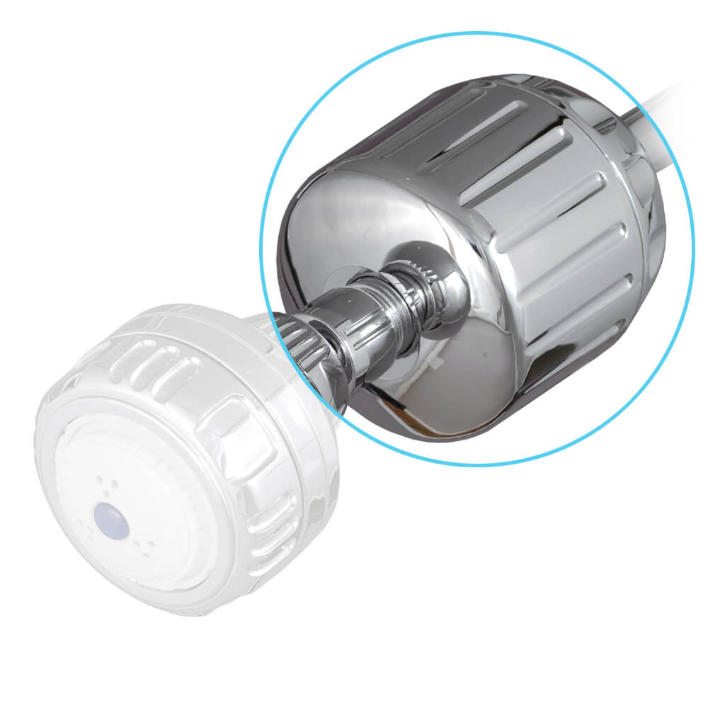 Sprite Shower Filter High Output - Chrome Plastic