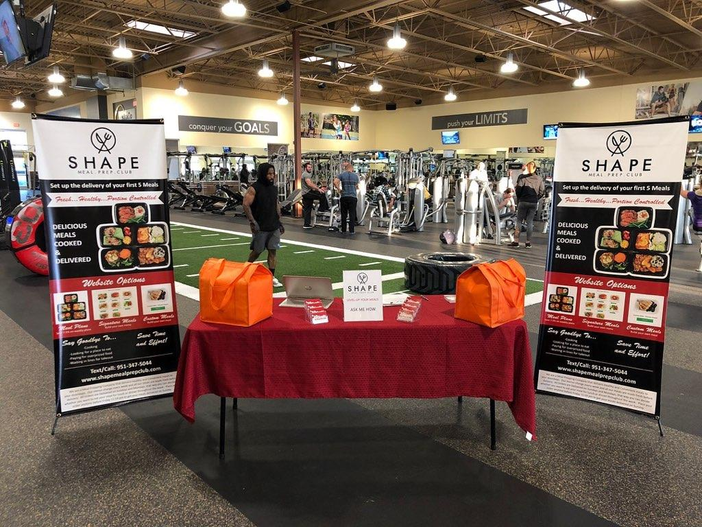 Shape Meal Prep at 24 Hour Fitness in Riverside