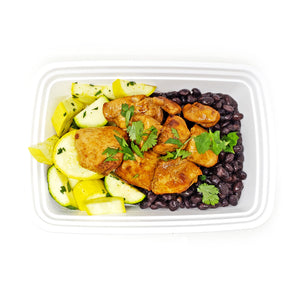 Cuban Citrus Chicken | Seasoned Squash | Cilantro Black Beans
