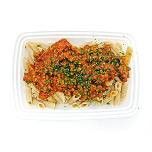 Whole-Wheat Penne Bolognese