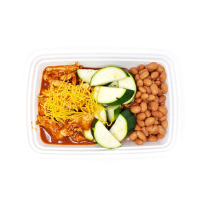 Chicken Enchilada Bowl | Pinto Beans | Summer Squash