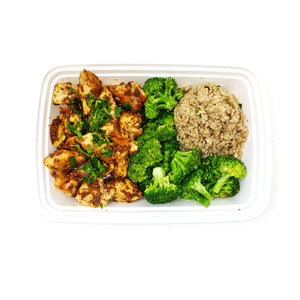 Honey Mustard Chicken | Brown-Rice Quinoa Medley | Fresh Broccoli