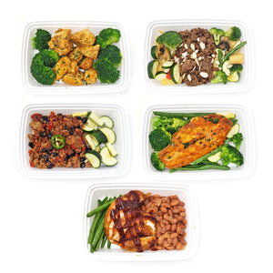 Bulk 50 Meals | Just Meat & Veggies Meal Plan (Lunch/Dinner)