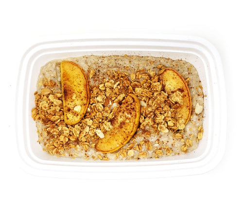 Steel-Cut Oats | Apple Cinnamon & Granola