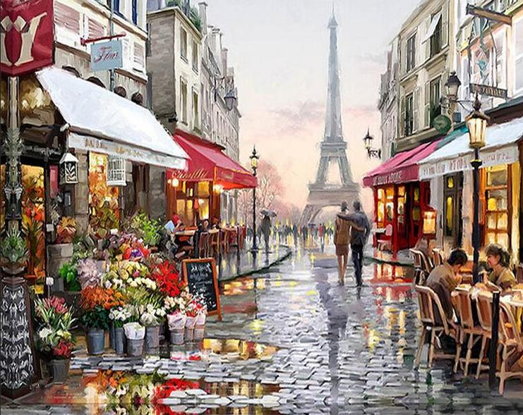 Evening In Paris (Paint By Numbers)