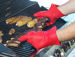 Heat Resistant Silicone Oven Mitt