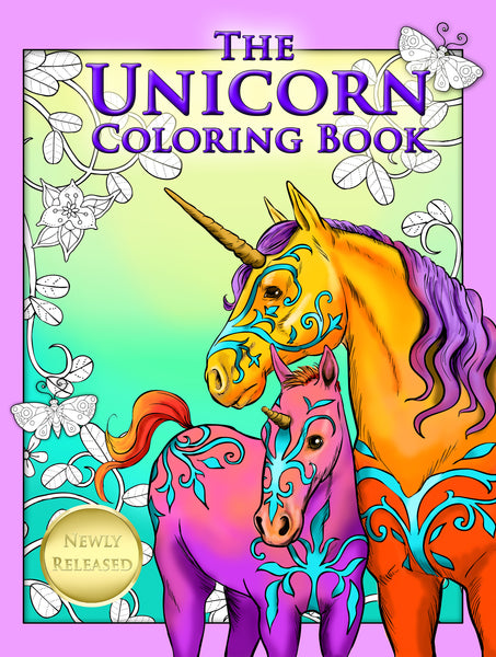 The Unicorn Coloring book - Top Brook