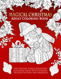 Magical Christmas Adult Coloring Book - Top Brook