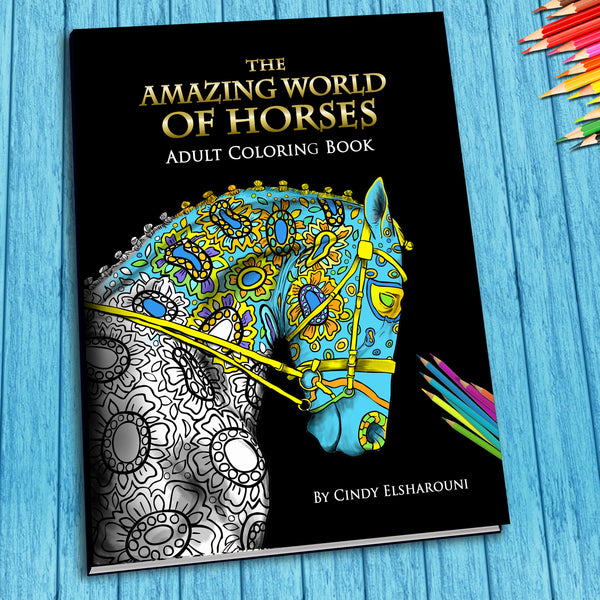 "FREE 5 Pages From ""Amazing World of Horses"" Book PDF Download - Top Brook"