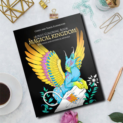 Magical Kingdom Coloring Book Digital Download - Top Brook