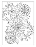 Coloring Book for Adults: Amazing Swirls and Paisley Patterns For Relaxation: Cute and Fun Designs to Color - Top Brook