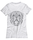 Detailed Rotvajler White T shirt - Top Brook