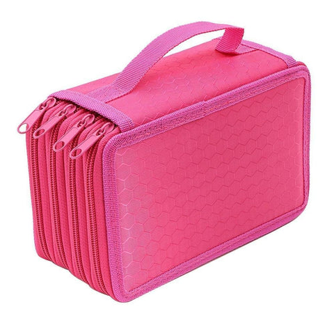 Chic 72 Slot Pencil Case Holder Organizer - Top Brook