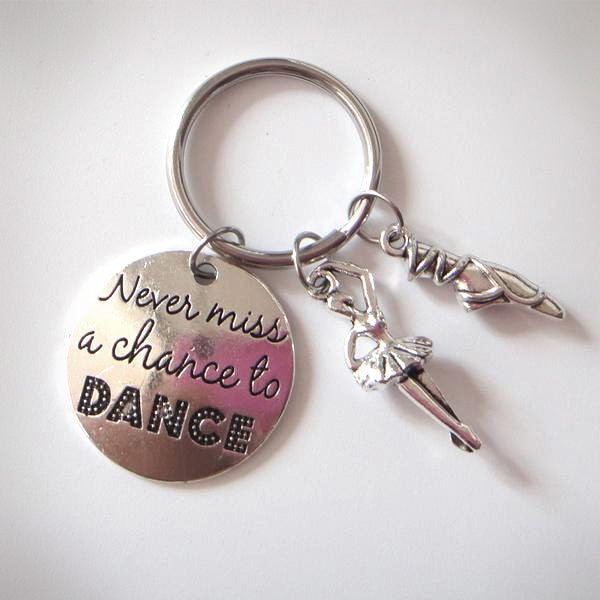 Dancer Keychains, Never miss a chance to DANCE - Top Brook
