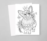 Dog Lover's Adult Coloring Book Digital Download - Top Brook