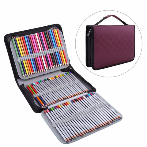 Chic 150 Slot Pencil Case Holder Organizer FREE SHIPPING