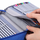 Top Brook 72 Slots Pencil Case  Organizer  FREE SHIPPING
