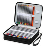Chic 124 Slot Pencil Case Holder Organizer FREE SHIPPING - Top Brook