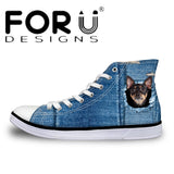 Wolf High Top Shoes Men's Canvas Shoes - Top Brook