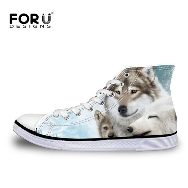 Husky High Top Shoes Men's Canvas Shoes - Top Brook