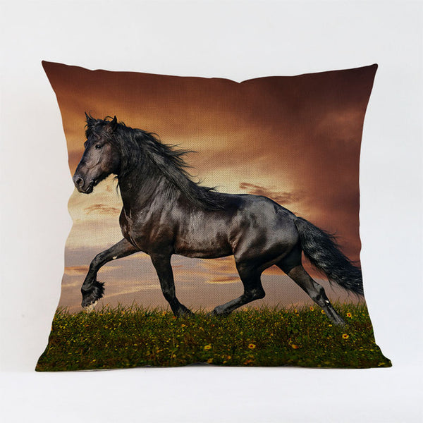 World Horse Breeds home sofa decorative cushion cover - Top Brook