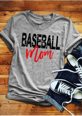 Baseball Mom T-Shirt - Top Brook
