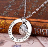 Family Gift Forever In My Heart  Necklace - Top Brook
