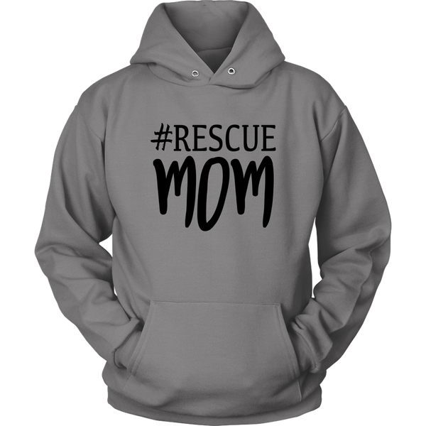 Rescue Mom T shirt For Animal Lovers Dog Lovers - Top Brook