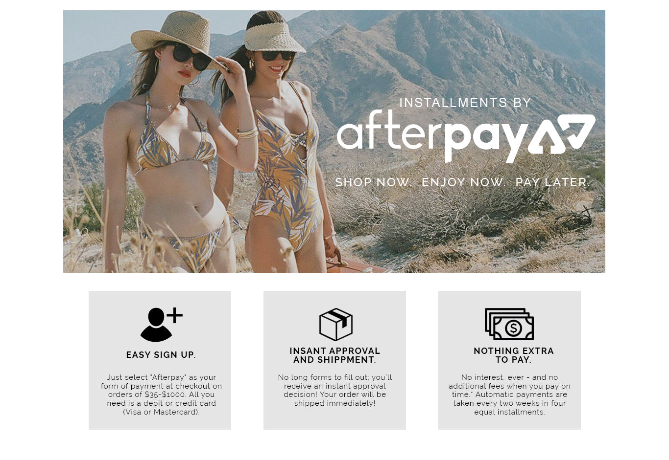 Afterpay – Red Carter