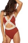 BLAIRE 1 PC - Cinnamon - Red Carter