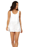 RALEIGH ROMPER - White