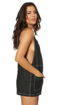 RALEIGH ROMPER - Black