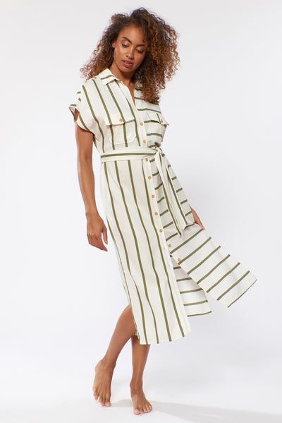 Shay Dress - Safari - Red Carter