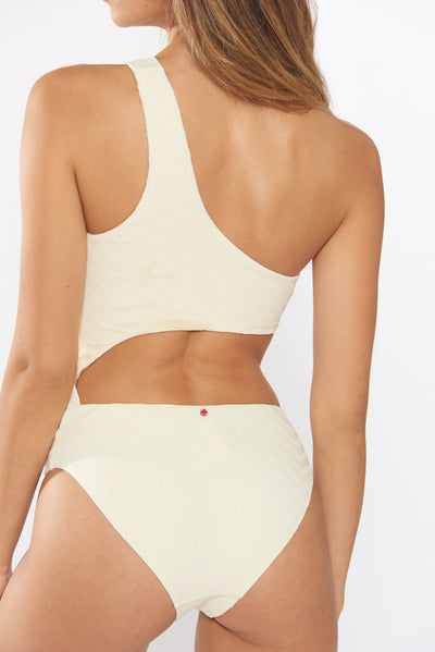 Peri 1 PC - Ivory - Red Carter