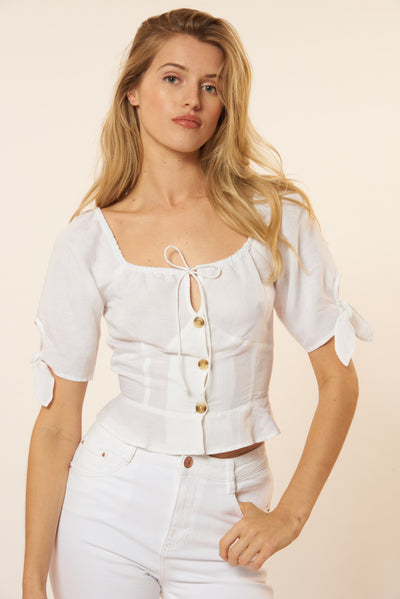 Audrey Top - Ivory